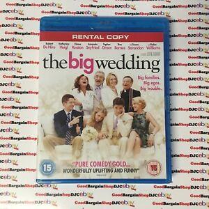 The Big Wedding (Blu-ray, 2013) r
