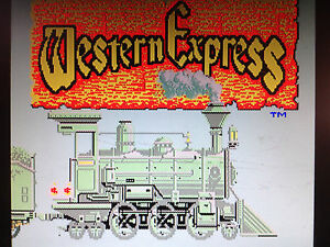 Details about WESTERN EXPRESS by DATA EAST ARCADE JAMMA PCB ORIGINAL RARE