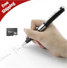 16GB Silver HD Spy Pen Camera DVR Audio Video Recorder Camcorder Mini gifts