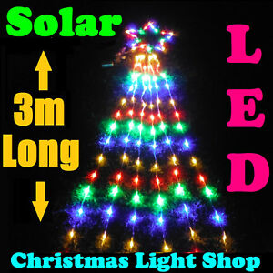 image is loading solar multicolour star top w 3m strands outdoor