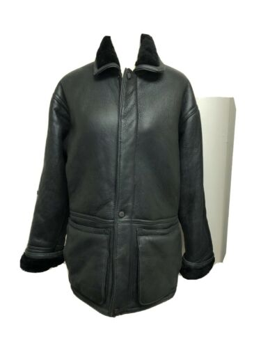 Excelled Collection Men's Sheepskin Leather Jacket