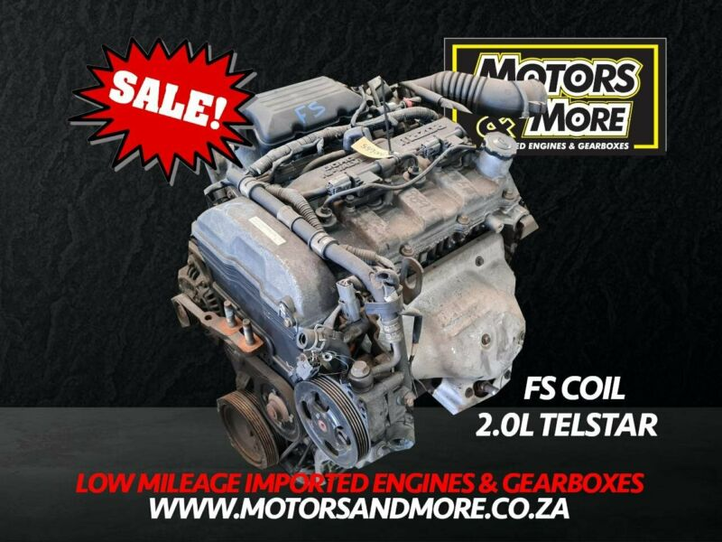 Mazda Etude FS coil type 2.0 Engine For Sale - No Trade in Needed