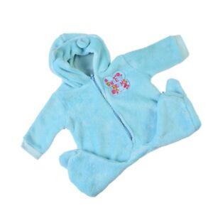 Cute Blue Romper Hat Clothing For Newborn Baby Doll Reborn Boy Clothes Ebay