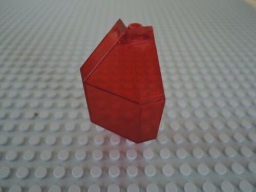 Lego 1 x Panel Ecke 2468 transparent rot 3x3x6  6986