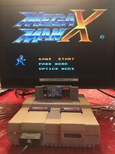 Mega Man X (Super Nintendo, SNES, 1993) Capcom Video Game Cartridge Only Tested