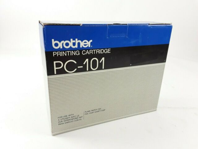 Brother PC-101 Thermo Transferrolle Thermorolle Printing Cartridge schwarz