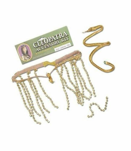 Cleopatra Fancy Dress Accessories Accessory Party Ladies Girls Armband Crown