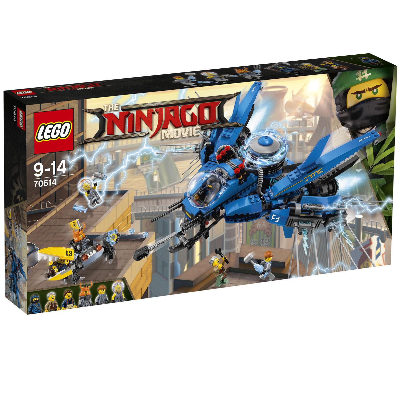 LEGO NINJAGO Movie Jay's Jet-Blitz (70614) Spielzeug    brandtoys f51cda