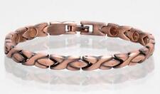 NEW COPPER MAGNETIC LINK BRACELET lady womens STYLE#LXO  jewelry health Energy