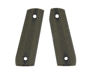 Pachmayr-G10-Tactical-Green-Black-Checkered-Grips-for-Ruger-22-45-Pistols-61120