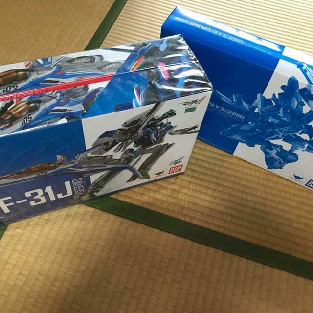 F S DX Chogokin Macross Delta VF31J Siegfried Super Parts set NEW