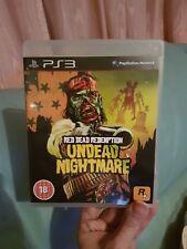 Red Dead Redemption morts-vivants cauchemar PS3 PLAYSTATION 3 Vendeur Britannique