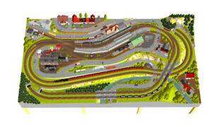 GP3-0110-Maerklin-C-Gleisanlage-Friedrichshoehe-305x160cm-DIN-A4-Mappe-Color