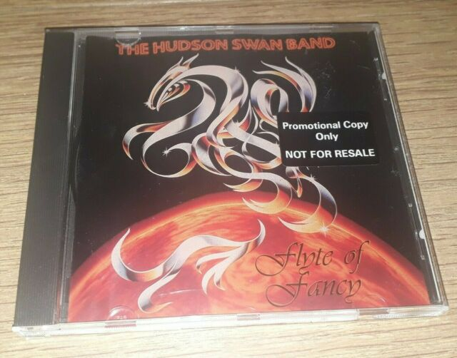 THE HUDSON SWAN BAND * FLYTE OF FANCY * CD PROMO ALBUM 1998