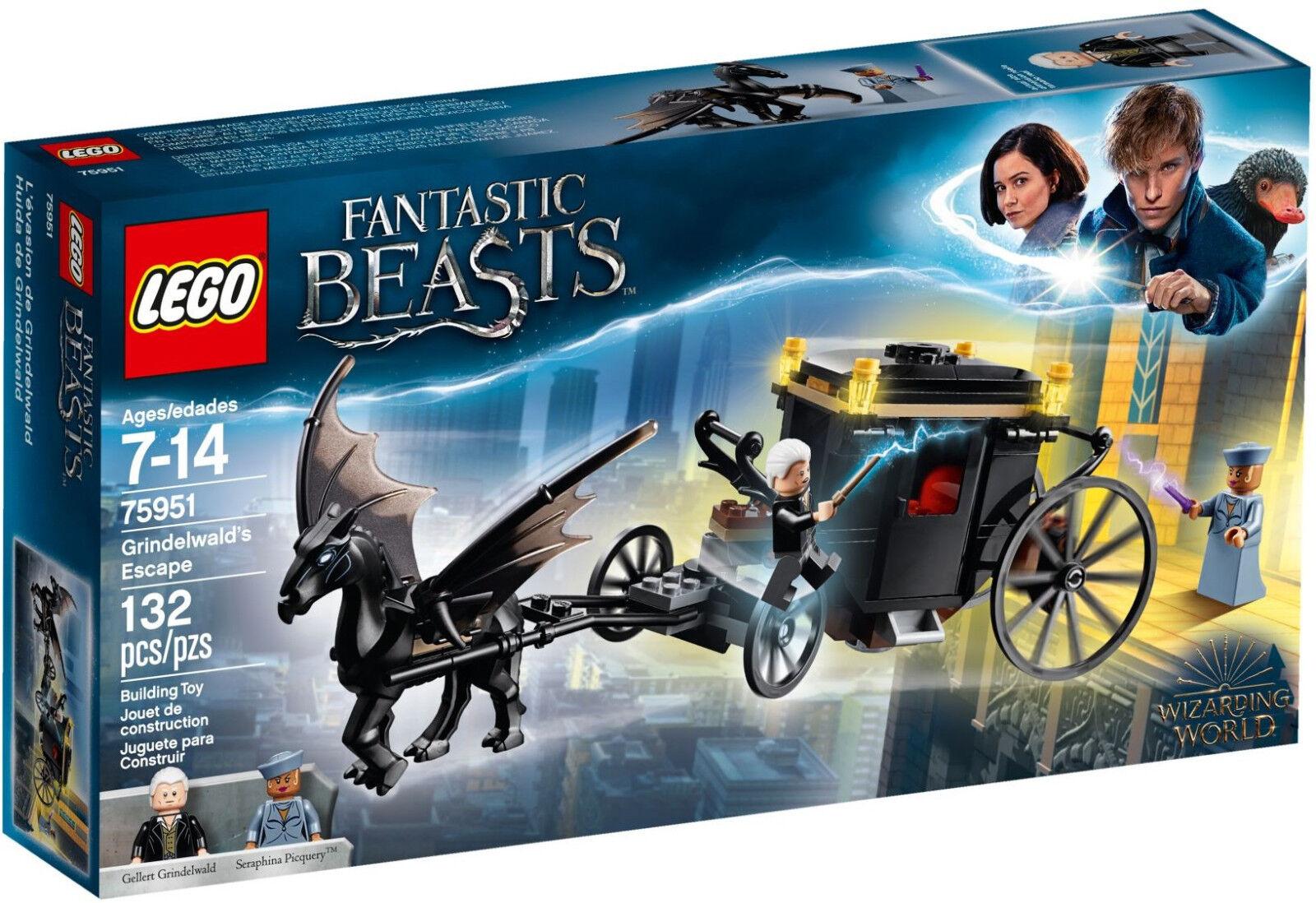 Lego TU Beasts - 75951 grindelwalds fuite Escape-NEUF & neuf dans sa boîte