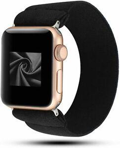 For-Apple-Watch-iWatch-Series-5-4-3-2-1-Scrunchie-Elastics-Loop-Band-Strap