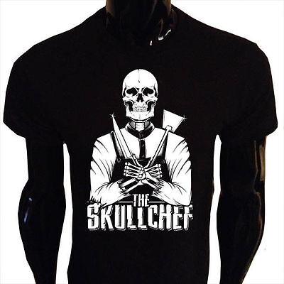 Kids Boys Girls Undead Sheriff T-Shirt skull skeleton gothic goth rock bike