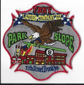 New York City Fire Dept Ladder 79 Patch