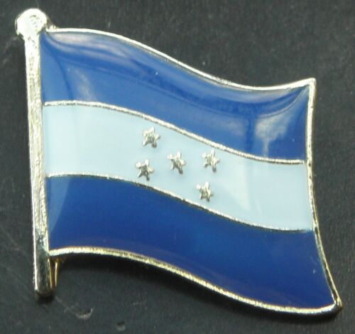 El Salvador Flag Lapel Hat Cap Tie Pin Badge República de El Salvador Brooch