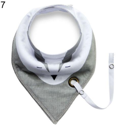 EG /_ Baby Kleinkind Dreieck Halstuch Lätzchen Speichel Handtuch mit SCHNULLER