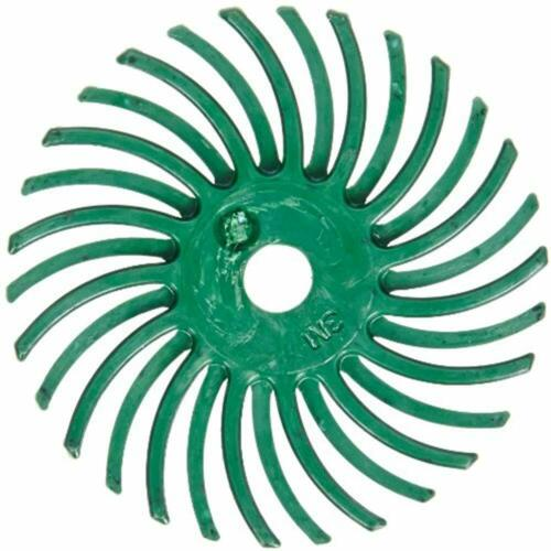 24 Per Inner 96 Case Industrial Scotch-Brite Radial Bristle Disc 1 In X 1//8 50