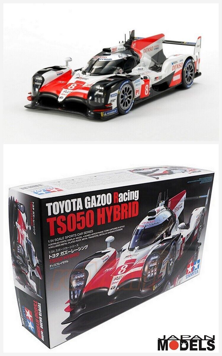 TOYOTA GAZOO RACING TS050 HYBRID Le Mans Tamiya 24349 1 24 Model Kit New Nuovo