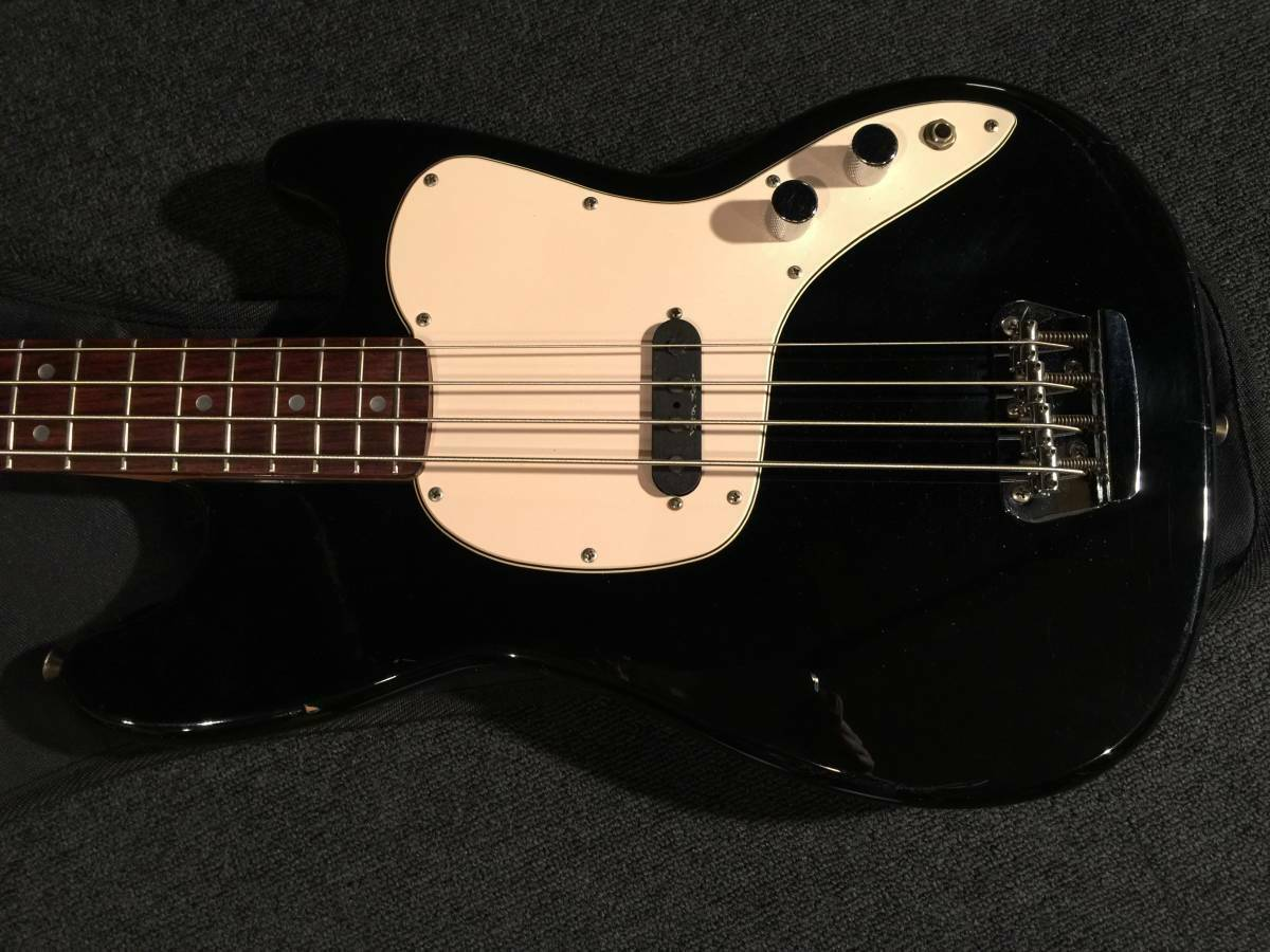 Squire by Fender MUSIC MASTER BASS Vista BLK MH  R No.092619 rare EMS F S