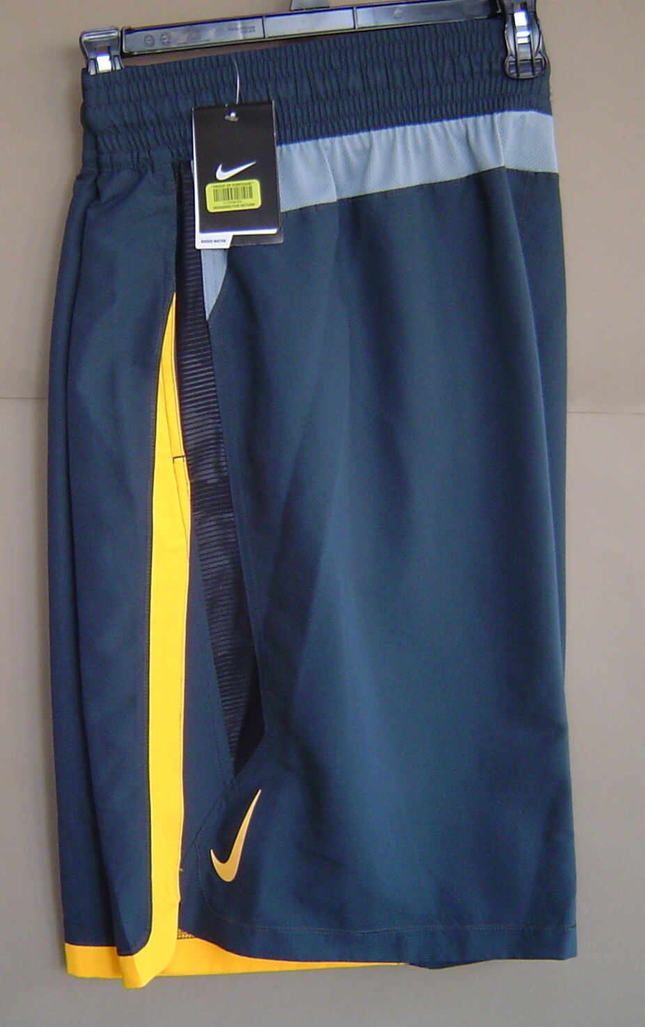 NWT  NIKE SWIM Mens XLT COLOR SURGE BEACON 12  VOLLEY SHORT Grey NESS6397 013