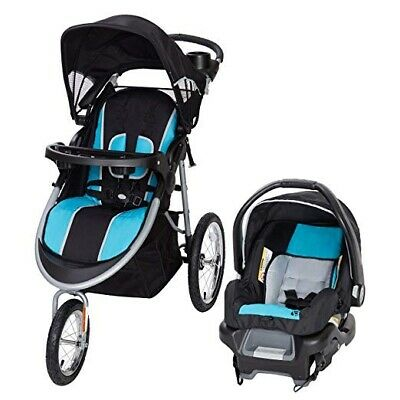 Baby Boy Jogger Travel System Stroller with Car Seat Optic ...