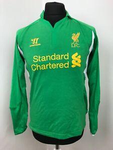 """Liverpool Football Shirt 2013/14   Soccer Jersey Goalkeeper Shirt Size XS (34"""")"""