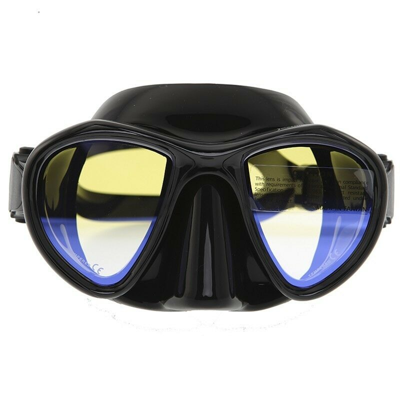 DIVING  FREEDIVE SPEARFISHING Hunter Mask (Antireflection Glass)  classic fashion