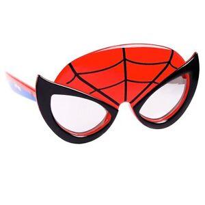 SPIDER-MAN MARVEL HERO Boys 100% UV Shatter Resistant Costume Sunglasses NWT
