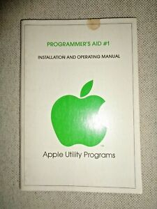 1978-APPLE-PROGRAMMER-039-S-AID-1-UTILITY-PROGRAMS-OPERATING-MANUAL-Computer-ROM