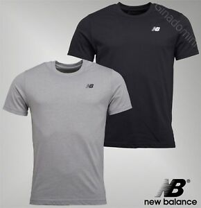 Top-de-cuello-redondo-para-hombre-New-Balance-Camiseta-Manga-Corta-Jersey-Tallas-Desde-S-A-LA-XXL