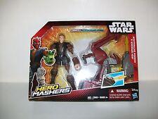 Star Wars Hero Mashers Jedi Speeder & Anakin Skywalker Disney , Hasbro New