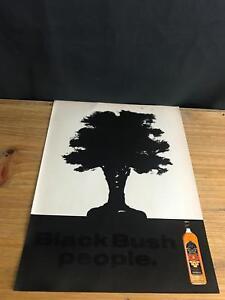 1991-vintage-9X12-Londres-annonce-imprimee-pour-Bushmills-Black-Bush-Irish-Whiskey