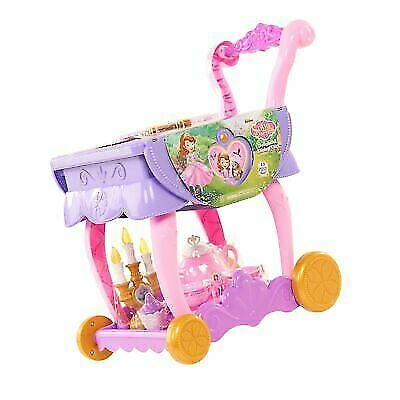 Disney Sofia The First 13 Piece Delightful Dining Cart For
