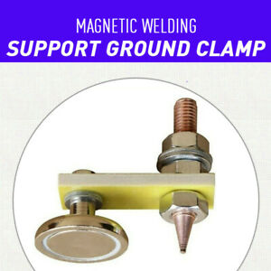 New Metal Welding Magnet Head Magnetic Welding Support Ground Clamp Without Tail