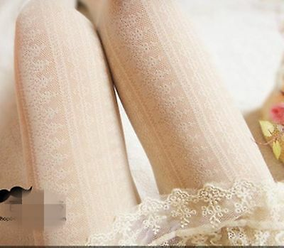 NEW Women Lady Vintage Retro lace embroidery Stockings Pantyhose Tights Opaques