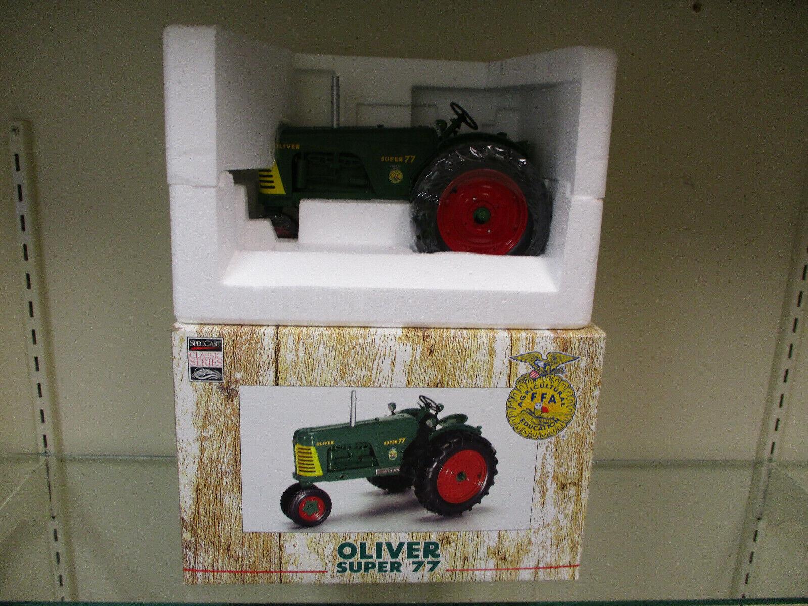 OLIVER Super 77 2004 Iowa FFA 75th Anniversaire Edition By specCast échelle 1 16th