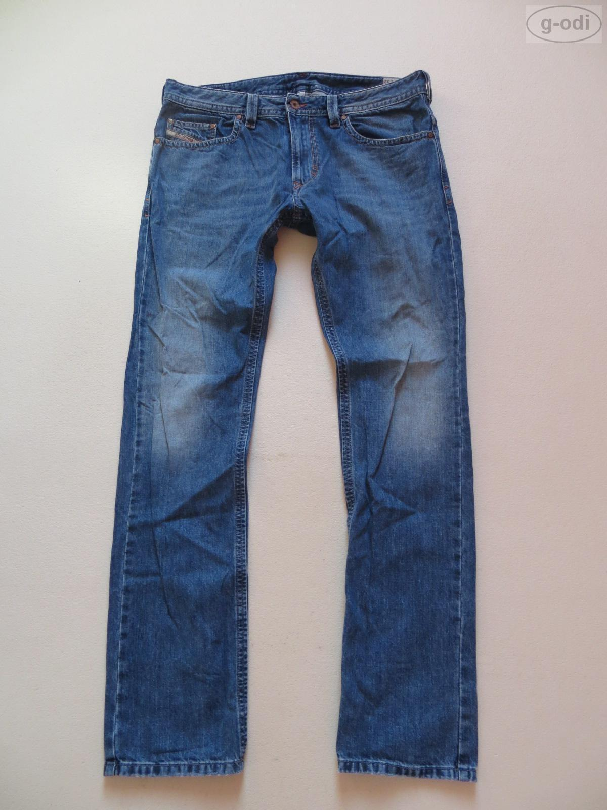 Diesel THAVAR Jeans Hose SLIM - SKINNY wash 0RML9 W 34  L 32 Faded Denim TOP