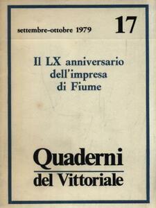 QUADERNI DEL VITTORIALE - ANNO III N. 17/SETTEMBRE-OTTOBRE 1979  AA.VV.