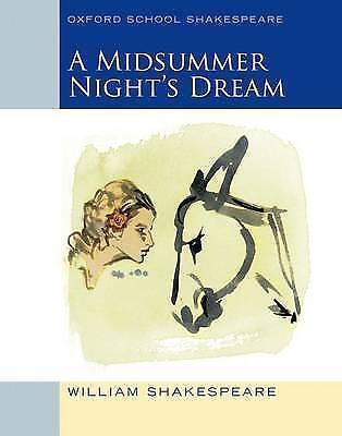 1 of 1 - Shakespeare, William, Oxford School Shakespeare: Midsummer Night's Dream, Very G