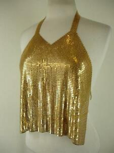 6ee92c157e8f5 Womens XS S diamant noir PARIS Vintage Década de 1980 discoteca ...