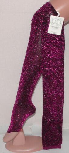 FiFi Pink Lurex Long Overknee OVER THE KNEE Fancy Dress SOCKS 4 5 6 7 UK NEW