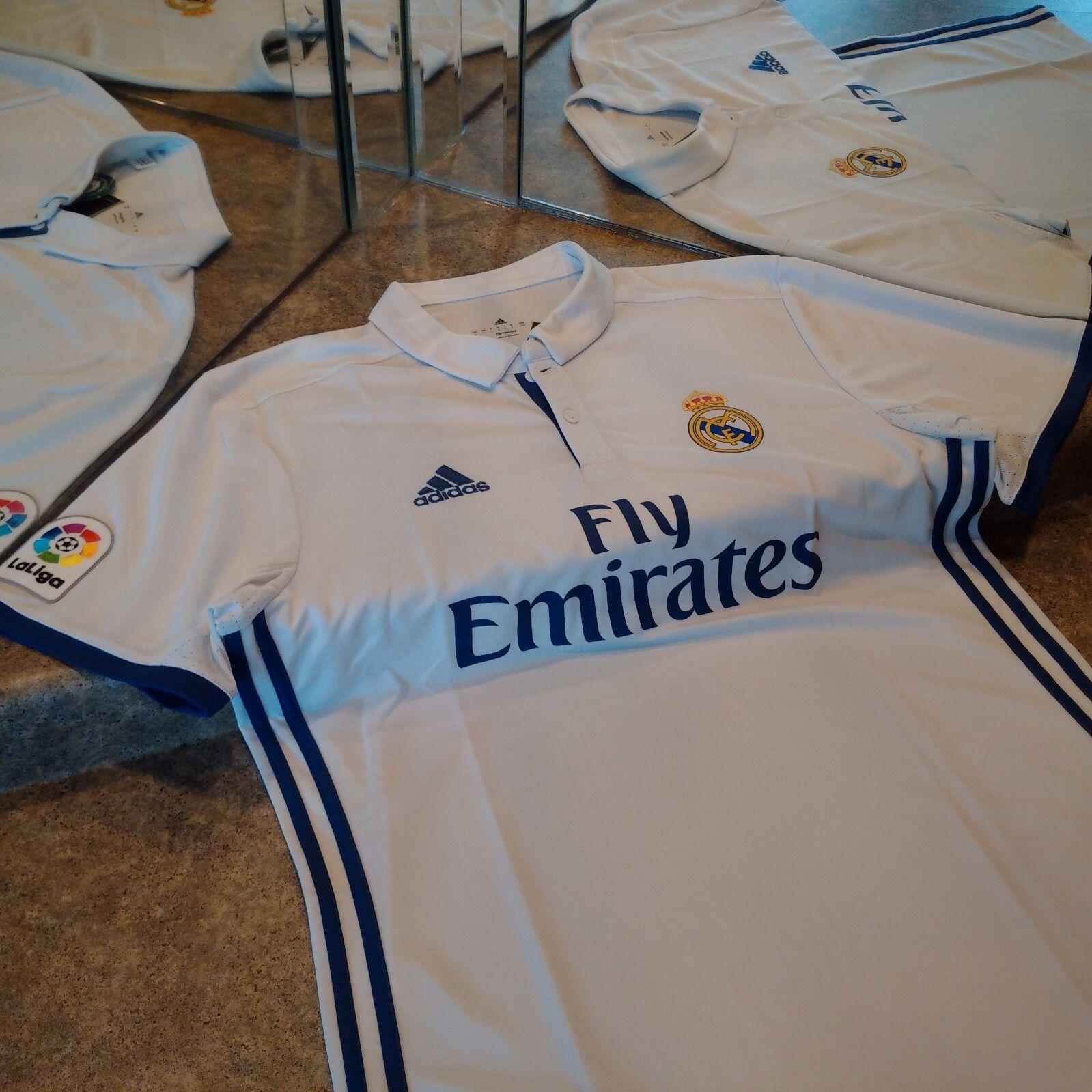 Adidas 1617 Real Madrid FC Home Jersey L Ronaldo, Modric, Bale, Isco, Ramos