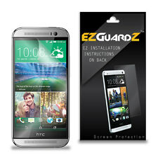 4X EZguardz LCD Screen Protector Skin Cover Shield HD 4X For HTC One M8s (Clear)
