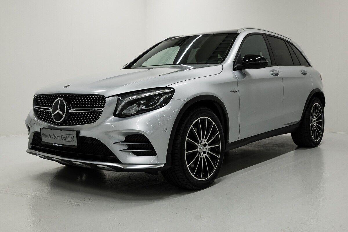 Mercedes GLC43 3,0 AMG aut. 4-M 5d - 839.900 kr.