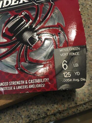 3 Packs Of spiderwire Steath-braid 6lb Test 125 Yards