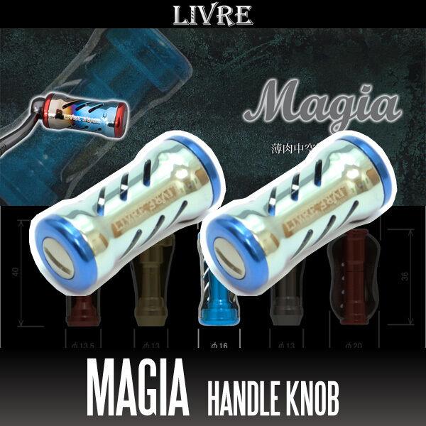 LIVRE Magia Titanium Handle Knob 2 pieces CHAMPAGNE   blueE